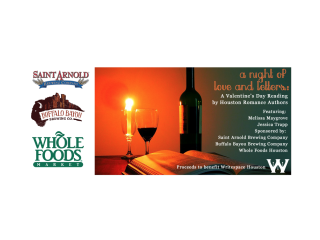 """Writespace hosts """"A Night of Love and Letters: Houston Romance Authors Read to Celebrate Valentine's Day"""""""