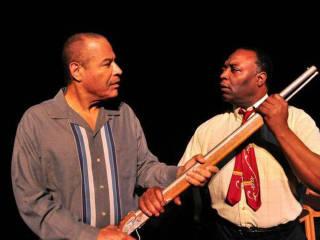 Tyrees Allen and Calvin Gabriel in Mississippi Goddamn