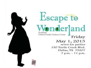 Child & Family Guidance Center presents Escape to Wonderland