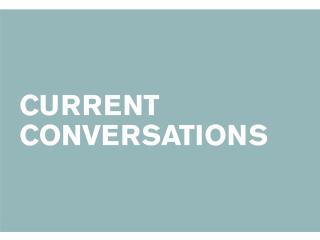 CounterCurrent Festival 2015 Current Conversations