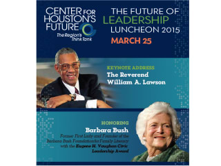 "Center for Houston's Future ""Future of Leadership"" Luncheon 2015"