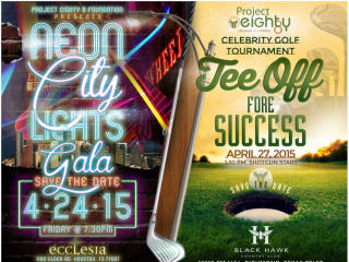 """""""Neon City Lights Gala and Tee Off Fore Success"""" benefiting Project 88 Foundation"""