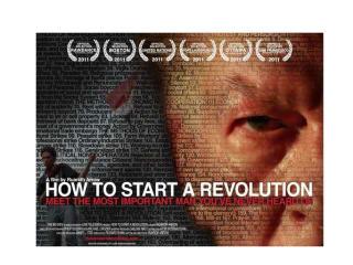Film screening: How to Start a Revolution