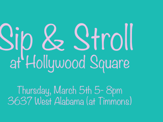 """Hollywood Square hosts """"Sip and Stroll"""""""