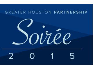 Greater Houston Partnership presents 2015 Soiree