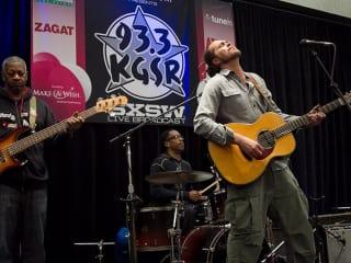 Austin Photo Set: News_caitlin_kgsr live broadcast_march 2013_musician