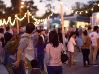 Night Market & Exhibition Opening