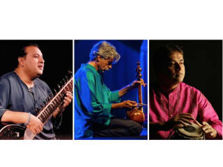"Asia Society Texas Center presents Shujaat Khan & Kayhan Kalhor in ""Persian and Indian Improvisations"""