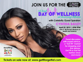 """""""Get Fit or Get Fat"""" Second Annual Day of Wellness and Anniversary Celebration"""