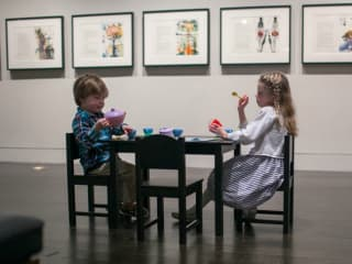 Harry Ransom Center_Alice's Adventures in Wonderland_children_tea party_2015