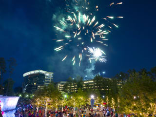 Memorial Day in The Woodlands & Fireworks