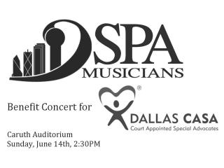 Musicians of the Dallas Symphony Orchestra Concert Benefiting Dallas CASA