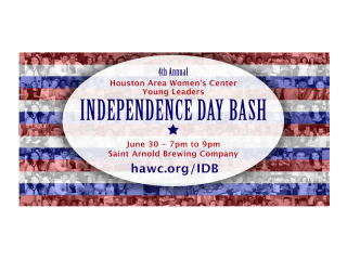 Houston Area Women's Center Young Leaders Presents Fourth Annual Independence Day Bash