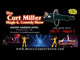 Moody Gardens Presents The Curt Miller Magic & Comedy Show