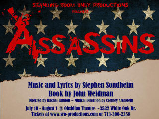 Standing Room Only Productions Presents Assassins the Musical