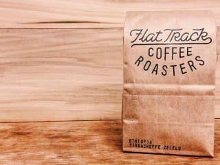 Flat Track Coffee Roasters_coffee bag_2015