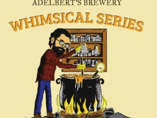 Adelbert's Brewrey Whimsical Series label Hibiscus Saison July 2015