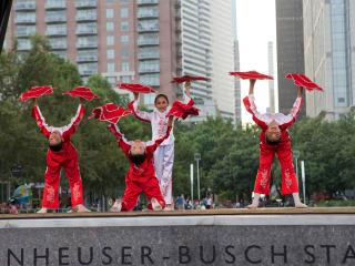 Dancers at Julydoscope