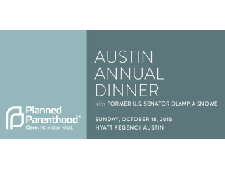 Planned Parenthood Austin Annual Dinner