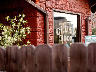 Austin_photo: places_food_cedar_door_exterior