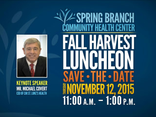 Spring Branch Community Health Center presents Fall Harvest Luncheon