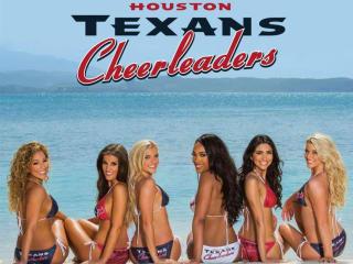 Houston Texans Cheerleaders Calendar Reveal Party
