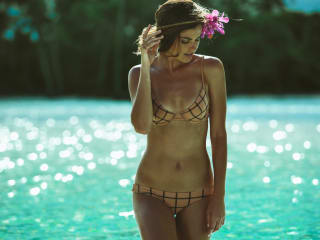 Swimsuit at Bask shop in Snider Plaza