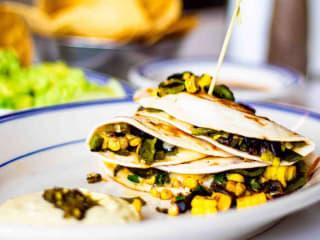 Taco Diner chicken al pastor tacos