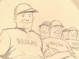 Dallas Historical Society presents An Evening With John Knott's Cartoons with Ed Owens
