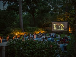 The Museum of Fine Arts, Houston outdoor film screening