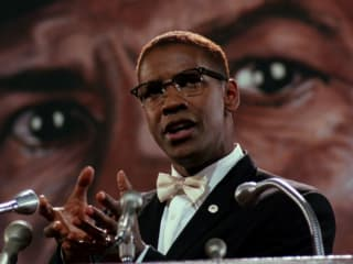 Denzel Washington in Malcolm X