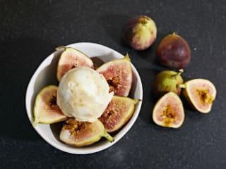 figs, ice cream