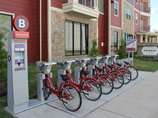 Houston Bike Share presents Gateway on Cullen BCycle Station Ribbon Cutting