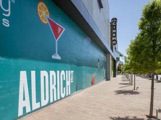 Mueller presents Aldrich Street Grand Opening Celebration
