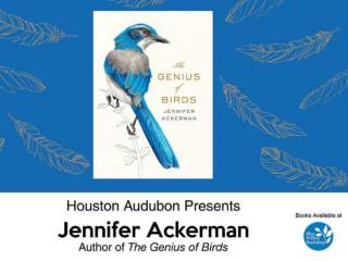 Houston Audubon presents <i>The Genius of Birds</i> book signing