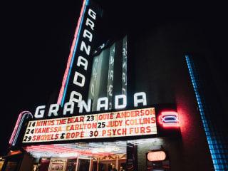 Granada Theater marquee