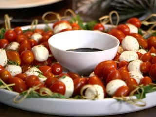 Caprese salad from Whole Foods
