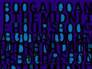 "Jamal Cyrus x Jamire Williams: ""Boogaloo & The Midnite Hours"" opening reception"