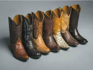 Black Jack Boots for Pinto Ranch Rodeo Trunk Show