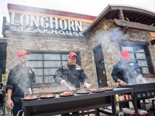 LongHorn Steakhouse Pop-Up Grilling Party