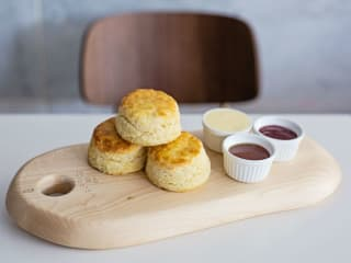 Overeasy biscuits