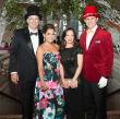 Houston, Childrens Museum of Houston Mad Hatters Ball, Oct. 2016, Truett Akin, Elva Akin Meeks, Monica Meeks