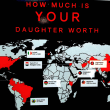 Houston, sex trafficking in Houston, August 2017, how much is your daughter worth sign