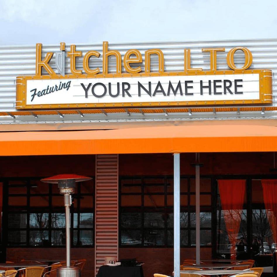 Kitchen LTO in Trinity Groves