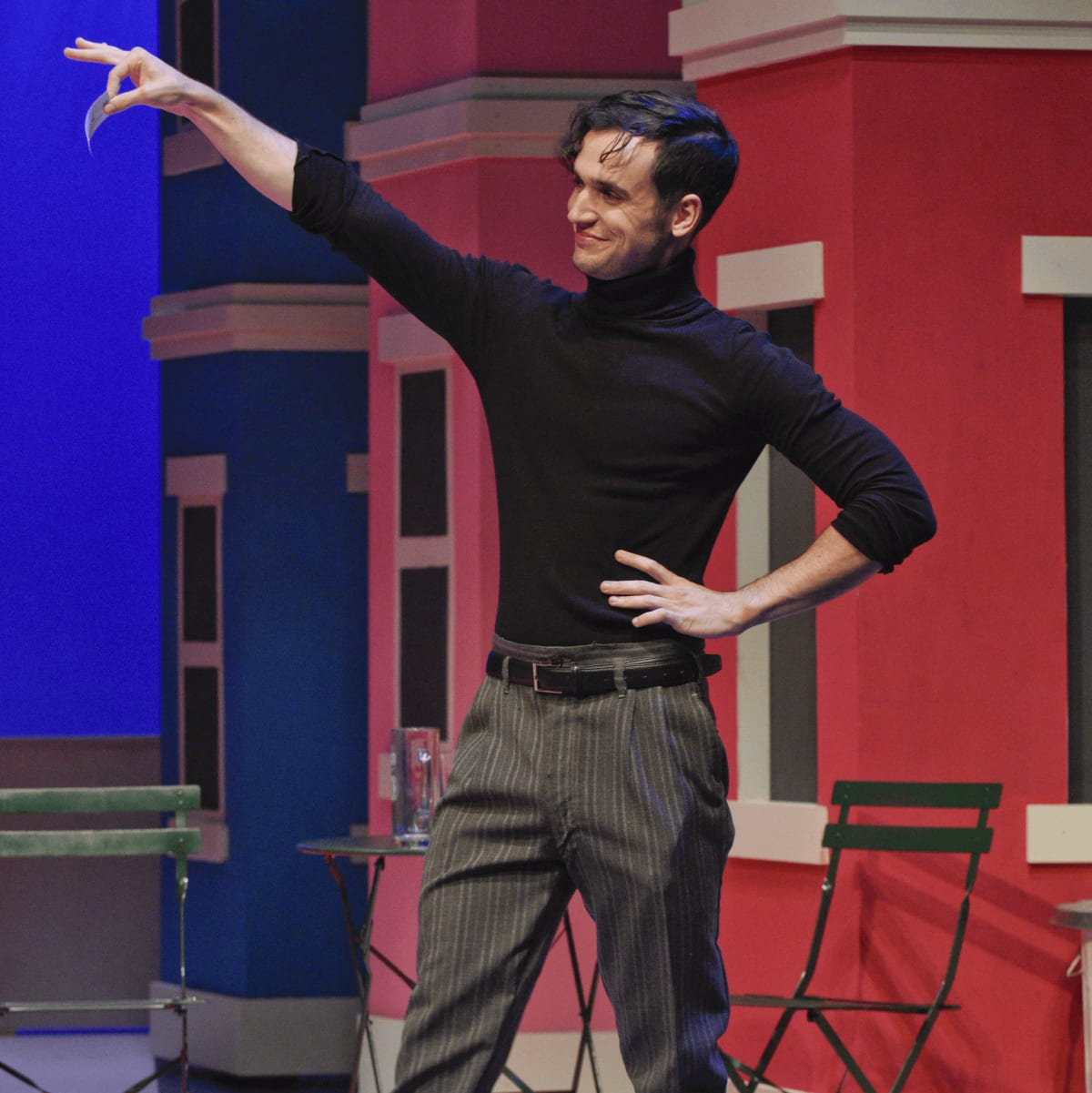One Man, Two Guvnors at WaterTower Theatre