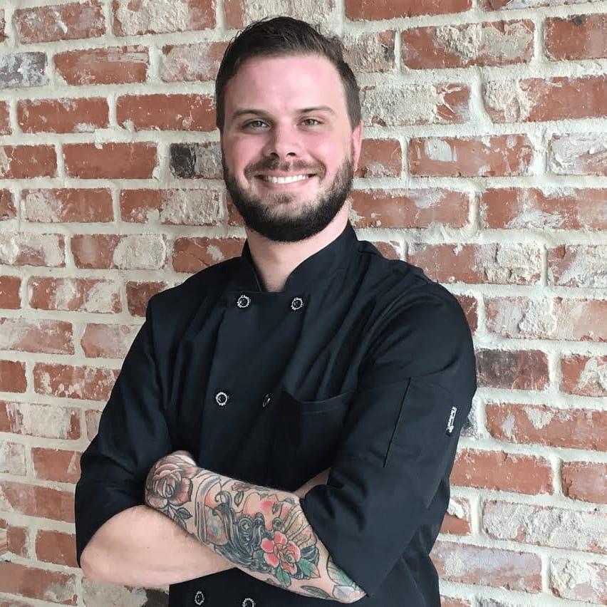 Dot's chef Nick Wells