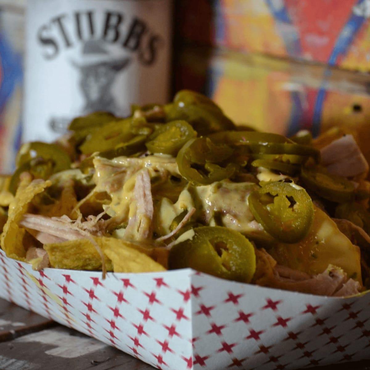 Stubb's Bar-B-Q barbecue bbq nachos