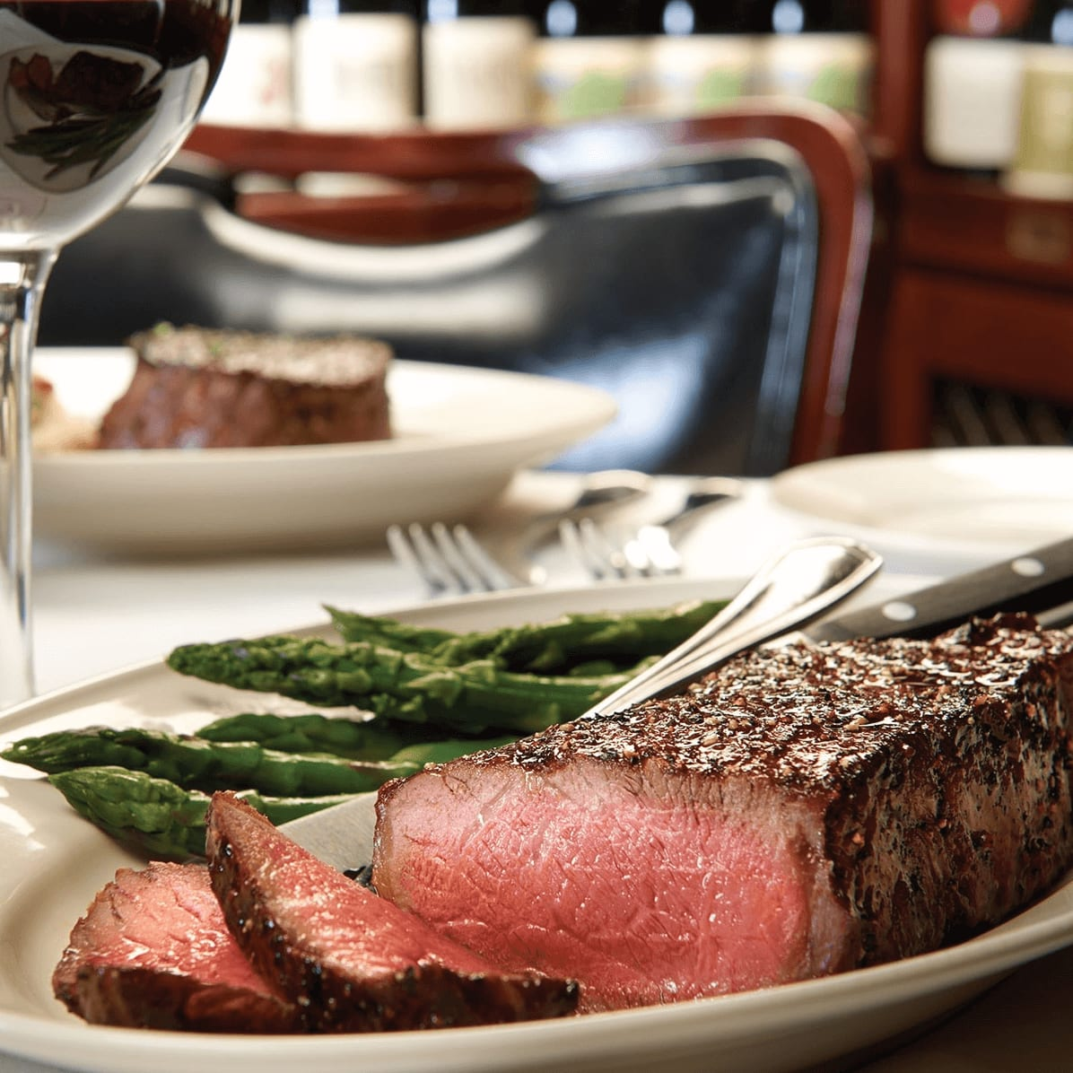 Pappas Bros Steakhouse NY Strip for two