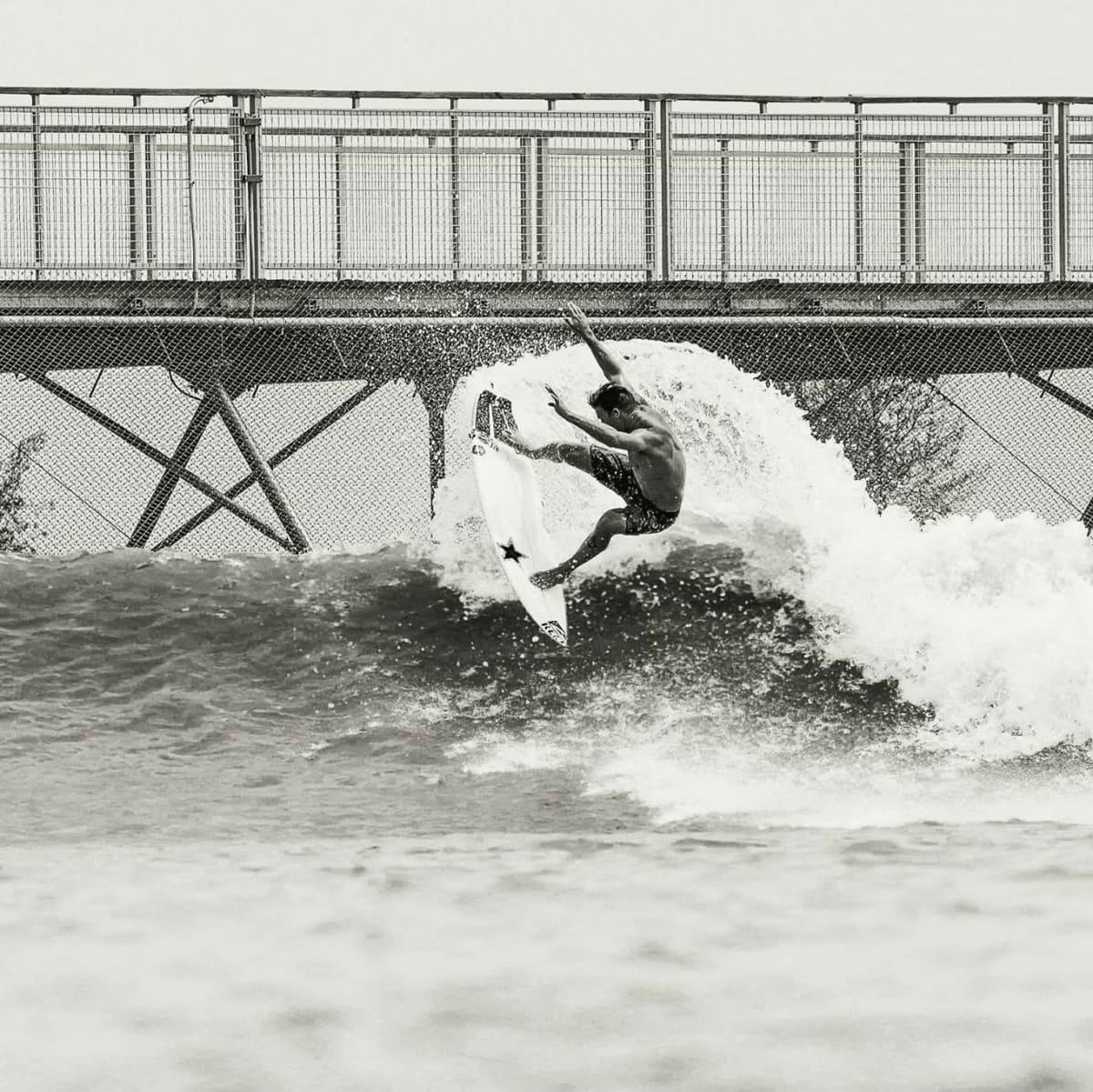 NLand Surf Park Austin surfer Mitch Crews