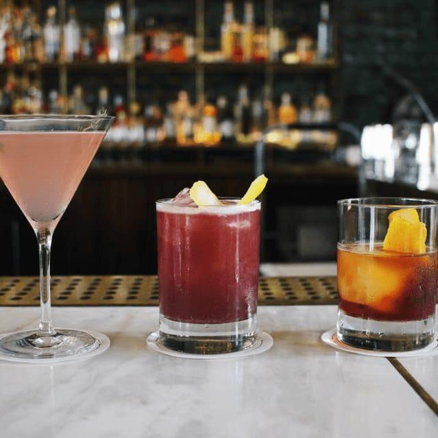 Central Standard South Congress Hotel cocktails bar